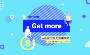 Only 24Hrs left to grab the TOP-UP Bonanza!