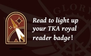 Read to light up your TKA royal reader badge!