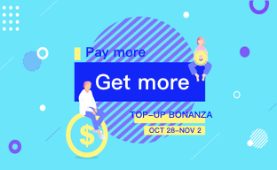 NOV TOP UP BONANZA!  Only two days left!