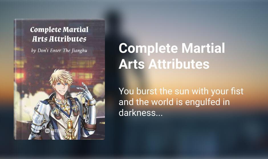 Complete Martial Arts Attributes